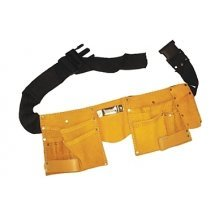 Кожена чанта за инструменти с регулируем колан