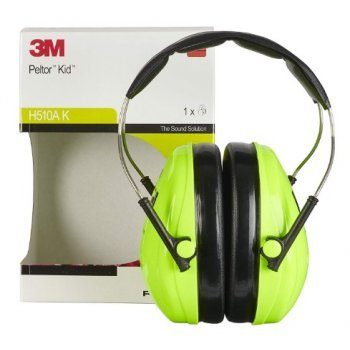 Детски антифони 3M PELTOR™ Зелени