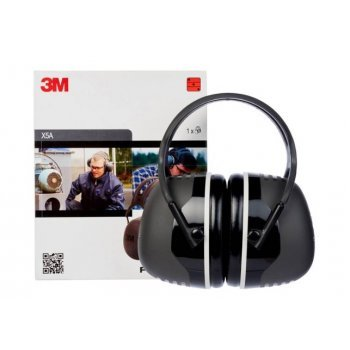 Антифони 3M™ PELTOR™ Earmuffs, 37 dB, Black, Headband, X5A