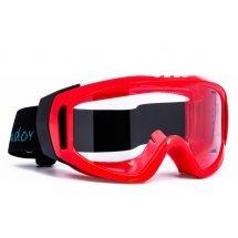 Защитни очила INFIELD GONDOR Red без вентилация.