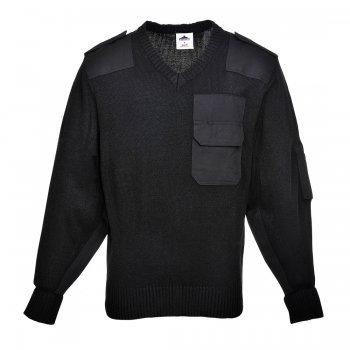Пуловер с джобове NATO