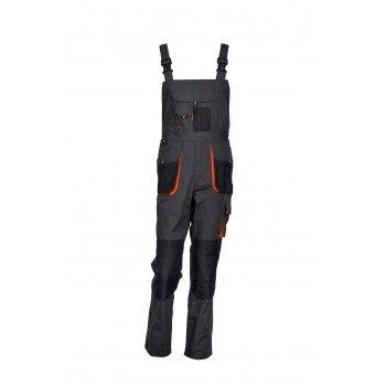 Работен полугащеризон EMEX BLACK BIB PANTS