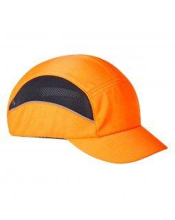 Противоударна шапка с вентилация Portwest Orange