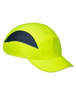 Противоударна шапка с вентилация Portwest Yellow
