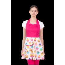 Цветна дамска престилка Muffins