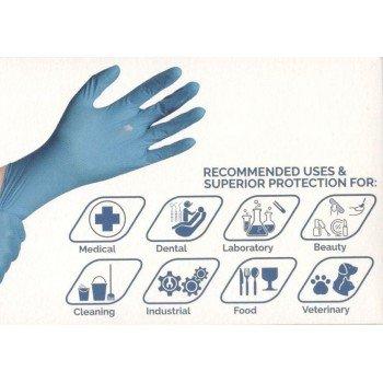Еднократни ръкавици от нитрил EUROGLOVES