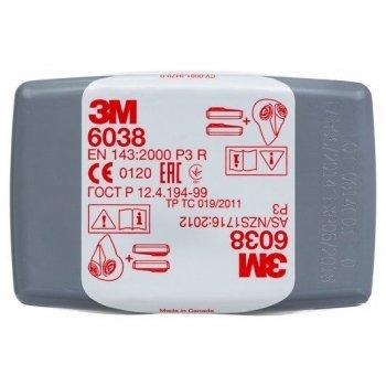 Прахов филтър 3M ™ 6038 P3R и HF