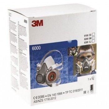 Респираторна полумаска 3M™ 6000