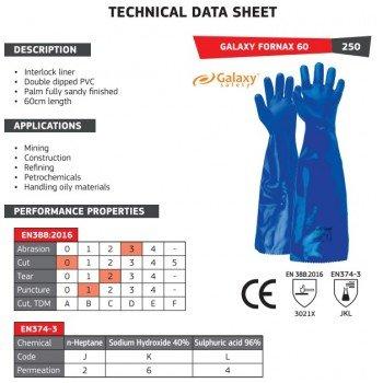 Дълги ръкавици GALAXY FORNAX 60