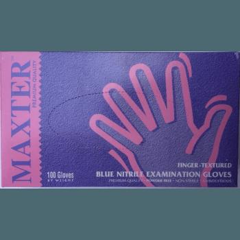 Еднократни нитрилни ръкавици Maxter 100бр.
