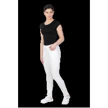 Медицински еластичен панталон White
