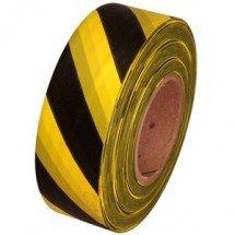 Обезопасителна лента жълто-черна 100 м