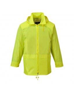Водоустойчиво класическо яке за дъжд PORTWEST Yellow