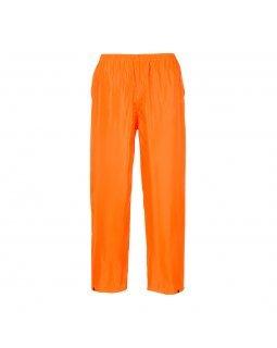 Водоустойчив класически панталон за дъжд PORTWEST Orange