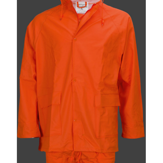Сигнално водозащитно облекло GALAXY RAIN PLUS